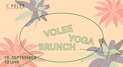 VOLEE Yoga Brunch Tickets