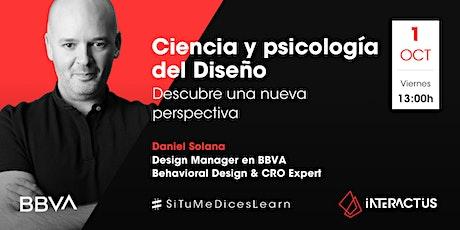 #STMDL 28 | Ciencia y psicología del Diseño por Daniel Solana boletos