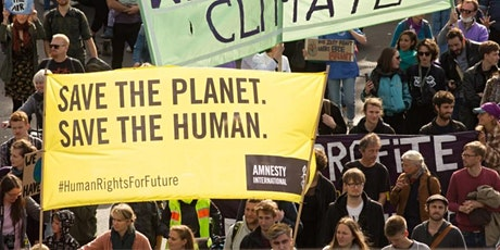 Why Climate Change is a Human Rights issue:  Amnesty and COP26 tickets