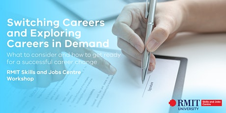 Switching Careers and Exploring Careers in Demand tickets