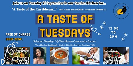 A  Taste of Tuesdays - Community Cooking Club tickets