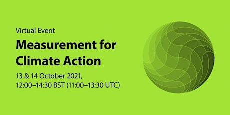 Measurement for Climate Action Workshop tickets