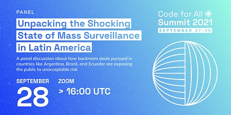 Unpacking the Shocking State of Mass Surveillance in Latin America tickets