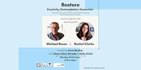 Restore: 'creativity, contemplation, connection' tickets