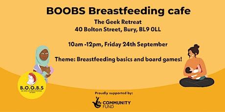 BOOBS September Breastfeeding Cafe tickets