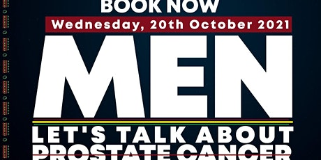 Let's talk about Prostate Cancer tickets