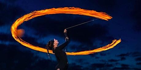 SUNSET CIRCUS SORCAS fire show to close EQUINOX CIRCUS SORCAS tickets