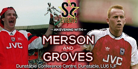 Legends Of Arsenal With Paul Merson & Perry Groves tickets