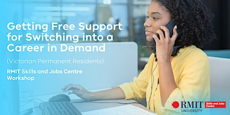 Getting Free Support for Switching into a Career in Demand tickets