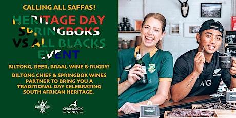 Heritage Day Springboks vs All Blacks Event tickets