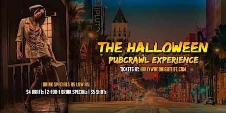 Hollywood Halloween Pub Crawl - Saturday tickets