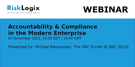Accountability & Compliance in the Modern Enterprise tickets