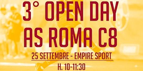 3^ OPEN DAY AS ROMA C8 (slot h.10.00) biglietti