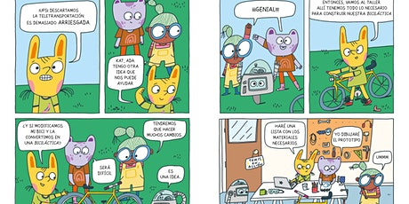 Taller 'Fem un robot amb Ana Gómez' (+ 6 anys) entradas