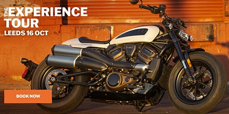 The Harley-Davidson Experience Tour tickets