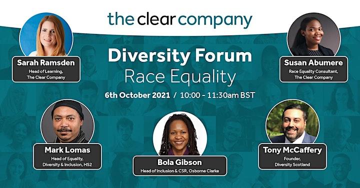 Virtual Diversity Forum-Race Equality image