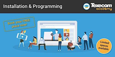 Installation & Programming Online Module- Premier Elite tickets
