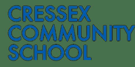 Open Evening - Tour of the Cressex Community School tickets