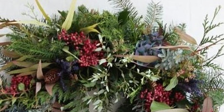 2 Christmas Workshops in 1 day. Luxury Wreath & Festive Willow Decorations tickets