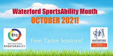 Waterford SportsAbility - Tennis for All Tuesday 19th October tickets