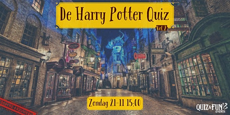 De Harry Potter Quiz  vol.2| Den Bosch tickets