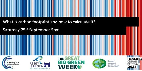 What is carbon footprint and how to calculate it? tickets