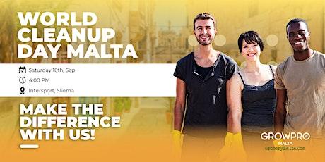 World Cleanup Day Malta tickets