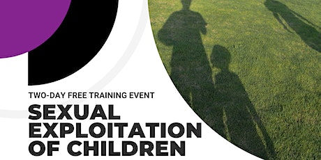 Sexual Exploitation of Children: Two-Day Training tickets