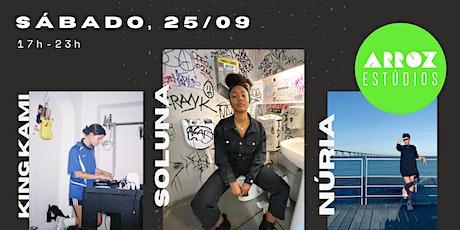 Soluna Showcase ft. Núria and King Kami bilhetes