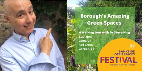 Borough's Amazing Green Spaces - a gentle stroll of discovery tickets