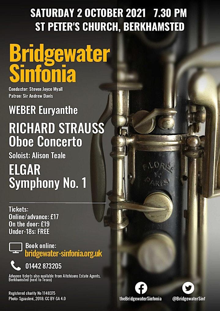 Weber, Strauss and Elgar image