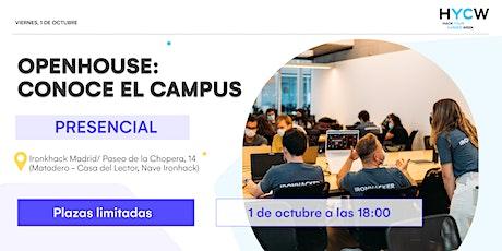 OPENHOUSE: CONOCE EL CAMPUS entradas