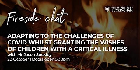 Fireside Chat - Mr Jason Suckley tickets