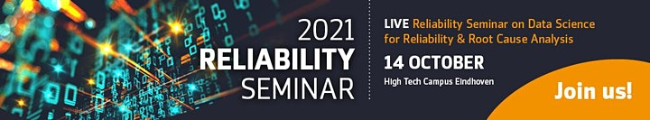 Reliability Seminar on Data Science for Reliability & Root Cause Analysis image