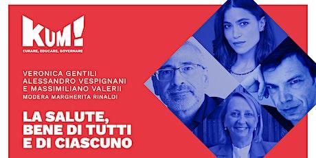 KUM! Festival 2021 - V. GENTILI, A. VESPIGNANI  E M. VALERII biglietti