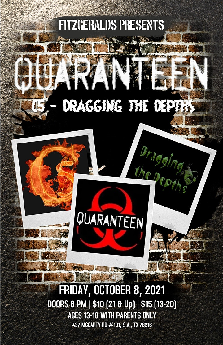 Quaranteen with special guests Dragging the Depths & C5 image