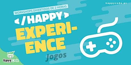 HAPPY EXPERIENCE -  PYTHON EXPERIENCE (Happy Code Presencial C. Ourique) bilhetes