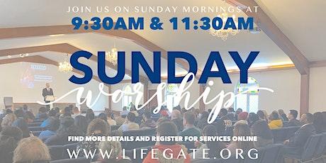 September 19th Sunday Service tickets