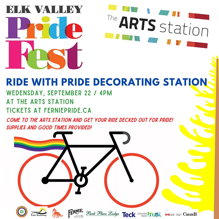 Bike Decorating with The Arts Station image