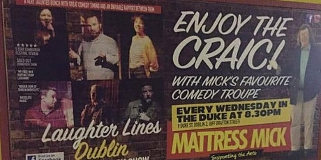 Laughter Lines Dublin tickets