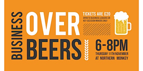 Business Over Beers - November 2021 tickets