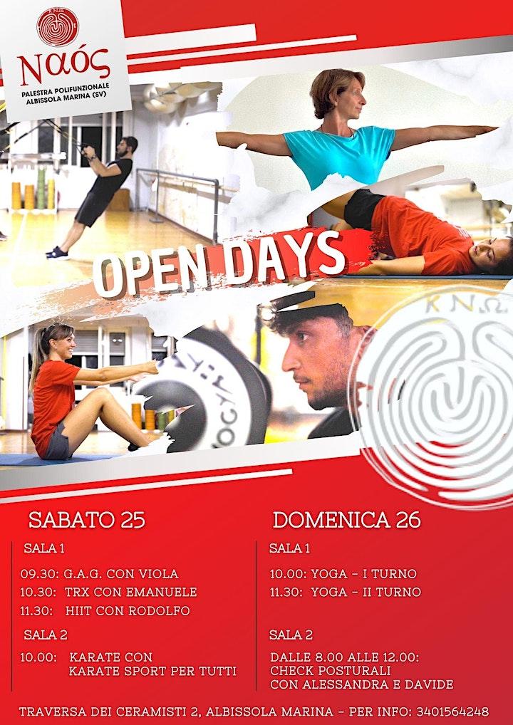 Immagine Naos Open Days