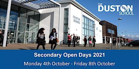 The Duston School - Secondary Open Days tickets