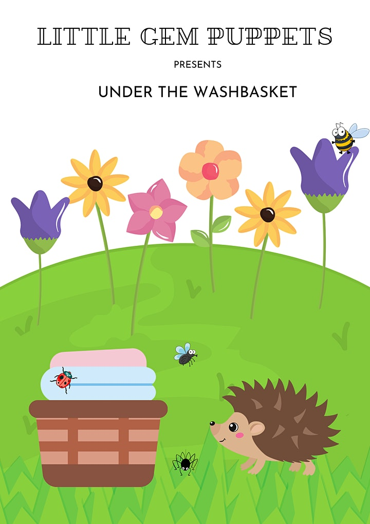 Wainfest 2021- Under the Wash basket with Little Gem Puppets - Free Event image