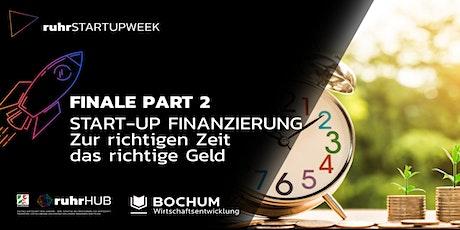 Finale Part 2: Start-up financing - ruhrSUW 2021 Tickets