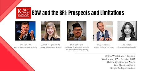 B3W  and the BRI: Prospects and Limitations tickets