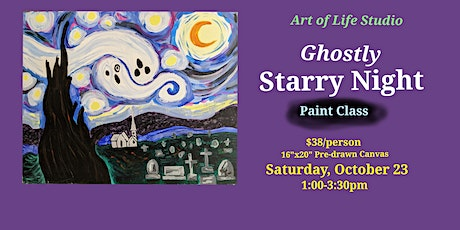 Paint Class: Ghostly Starry Night tickets