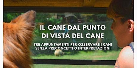 IL CANE DAL PUNTO DI VISTA DEL CANE biglietti