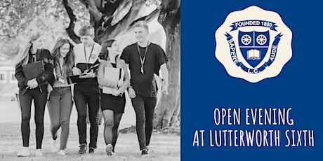Year 12 Open Evening at Lutterworth College tickets