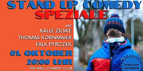 Stand Up Comedy Speziale mit Kalle Zilske & Thomas Kornmaier & Falk Pyrczek Tickets